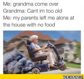 I Need You Grandma