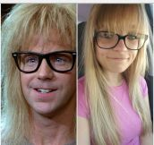 More Like The Garth's Girlfriend