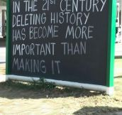 That's How We Relate With History