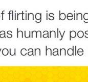 My Idea Of Flirting