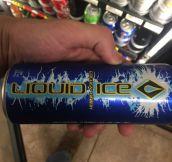 Hmm, Liquid Ice, I Wonder What It Tastes Like