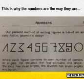 Why Number Are The Way They Are