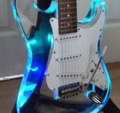 Awesome See-Through Guitar
