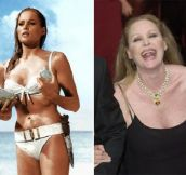 Iconic James Bond Girls (Then & Now)