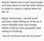 The Word 'Merican'
