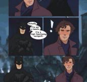 Batman Meets Sherlock