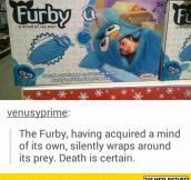 Furby Sleeping Bag: The Silent Killer