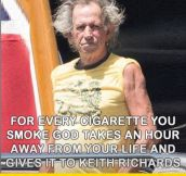 For Every Cigarette You Smoke