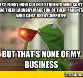 College Students Hypocrisy