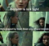 Poor Boromir