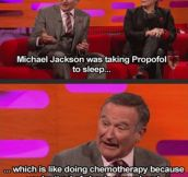 Robin Williams Discussing Michael Jackson On Propofol