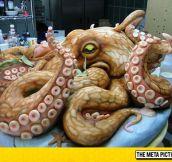 Epic Octopus Cake