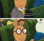 Arthur, Always Spitting Gospel