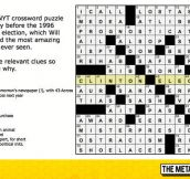 The Most Amazing Crossword Puzzle In History