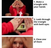 Find Your Dominant Eye In 30 Seconds
