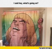 I Need This Shower Curtain
