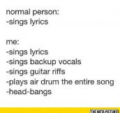 Whenever I Like A Song