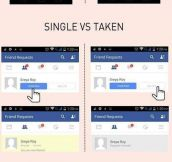 Single Vs. Taken