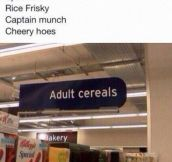 Cereals For Adults