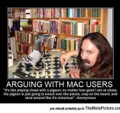 Arguing With Any Mac User