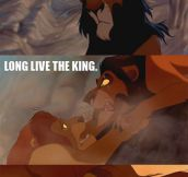 The Lion King, Alternative Ending
