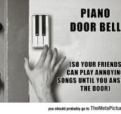 The Piano Door Bell