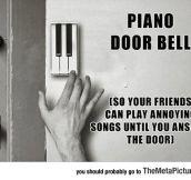 The Piano Door Bell