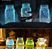 Make A Glow Stick Jar