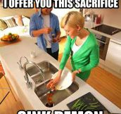 Using The Garbage Disposal