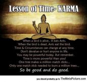 How Karma Actually Works