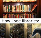 Libraries From Different Perspectives