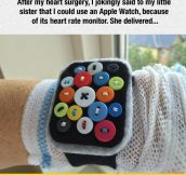 Homemade Apple Watch