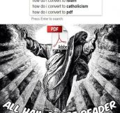 All Hail Adobe Reader