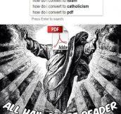 All Hail Adobe Reader