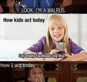 When I Was A Kid Vs. Kids Nowadays