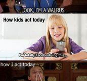 When I Was A Kid Vs. Kids Nowadays