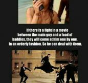 Strange Things That Only Happen In Movies