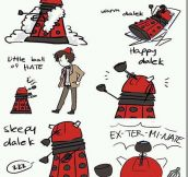 Soft Dalek, Happy Dalek