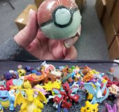 Pokeball Soap: Gotta Wash'em All