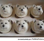 Delicious Westie Cupcakes