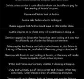 If WWI Was Actually A Bar Fight