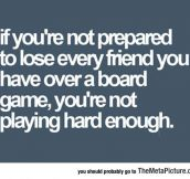 Playing Board Games With Friends