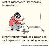 It's My First Instinct