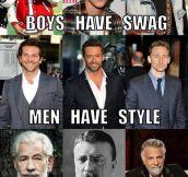 Boys Vs. Men Vs. Gentlemen