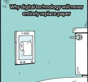 Digital Technology Vs. Paper