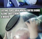 Whenever I Eat Popcorn