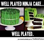 Well Played, Ninja Cake