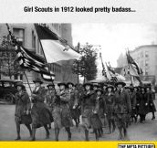 Old School Girl Scouts