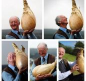 This Man Is So Proud Of His Onion