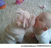 Innocent Puppy Kiss